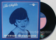 """THE SUGARS 7"""" Way Of My Heart Limited Edn Vinyl on Bad Sneekers Label NEW"""