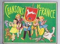 Chansons de France 5  - Album d'images POULAIN 1955 env