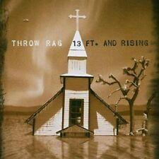 Throw Rag 13 Ft. And Rising CD NEW 2005  Enhanced Kung Fu U.S. Punk