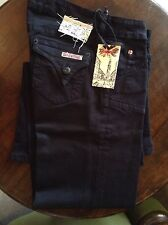 Hudson black womens trousers 27' 34L