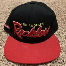 Young & Reckless Los Angeles Reckless Black Wool Blend Men's Snapback Hat Cap