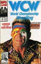 WCW World Championship Wrestling #3 FN 6.0 1992 Stock Image