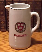 "HARVARD VERITAS Vintage American Decorators Trenton 10""H X 4.5""W Ceramic Jug"