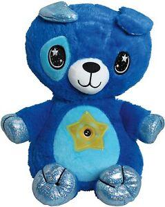 Star Belly Dream Lites, Stuffed Animal Night Light, Cuddly Blue Puppy - No Box