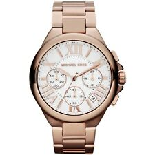 Michael Kors MK5757 Camille Rose Gold White Chronograph Ladies Watch