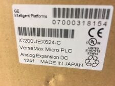 G.E. VersaMax Micro Analog Expansion Unit IC200UEX624-C NEW IN OPEN BOX