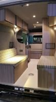 Iveco Daily 4 Berth Camper van Motorhome travels 4, campervan
