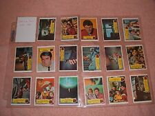 A AND BC LAND OF THE GIANTS GUM CARDS 1968 COMPLETE HIGH GRADE SET VERY RARE