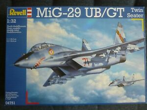 Revell 04751 1:32 MiG-29UB Trainer Twin Seater