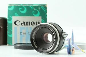 【Mint+++ in Box】 Canon 35mm f/2.8 L39 LTM Leica Screw Mount Lens From Japan