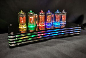 The 'Humbug' Nixie tube Clock with alarm - New from Bad Dog Designs