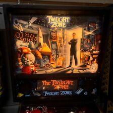 Twilight Zone Pinball Machine Lighted 55 T-Bird Mod