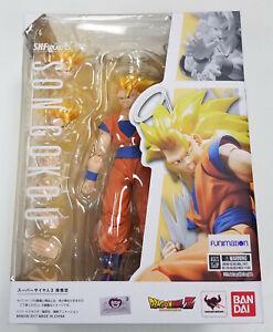 Bandai Tamashii SH Figuarts Dragon Ball Z SS3 SUPER SAIYAN 3 GOKU Figure MISB