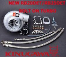 """Kinugawa Billet Turbocharger Bolt-On 3"""" Anti Surge RB20DE RB25DET TD05H 60-1 8cm"""