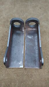 A Set of Matbro / John Deere Style Pin and Cone Weld on Brackets
