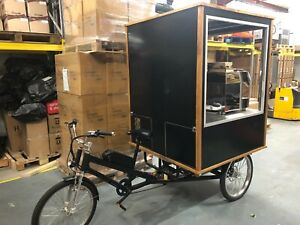 Coffee Electric Trike, 3 wheeler, Coffee Conversion, mobile catering, Brand New!