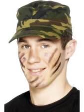 Military Costume Hats Cap