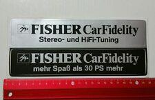 ADESIVI/Sticker: Fisher CAR Fidelity (25071667)