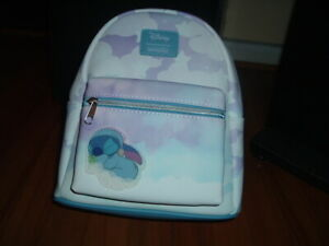 LOUNGEFLY DISNEY STITCH SLEEPING IN CLOUDS MINI BACKPACK~ WITH TAGS~ BRAND NEW~