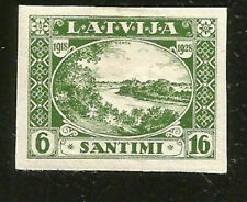 LATVIA VENTA RIVER MINT IMPERF STAMP FROM 1928