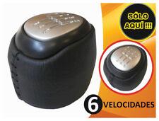 SAAB 9-3 93 (03-12) 6 VELOCIDADES DE CUERO POMO DE CAMBIO - NUEVO