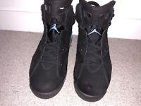 Nike Air Jordan 6 Retro Black/University Blue size 10