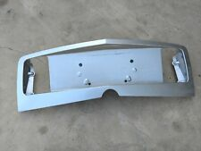 2003-2007 Cadillac CTS Rear Trunk License Plate Back up Light Trim Galaxy Silver