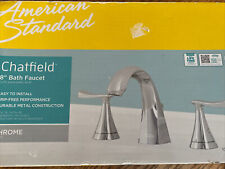 """American Standard Chatfield 8"""" Widespread  Bathroom Faucet in Polished Chrome"""