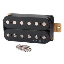 Alnico 5 Humbucker Pickup 52mm Guitar Bridge Accs Screw for Electric Guitar