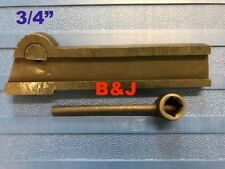 """Parting Off Tool 3/4"""" No 21 Lathe Tools Cutting Steel Blade Holder"""