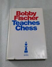 BOBBY FISCHER TEACHES CHESS [1966] 4TH PRINTING HARDCOVER W/DUST JACKET