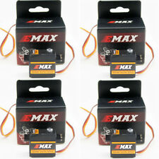 4Pcs EMAX ES09MD Dual-bearing Metal Gear Digital Servo For RC Helicopter Plane