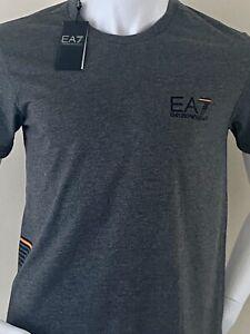 EMPORIO ARMANI 'EA7' T-SHIRT -  LAST ONE  - MEDIUM (40') -  £££%%