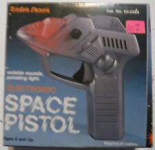 Radio Shack Electronic Space Pistol Variable Sounds. Pulsating Light
