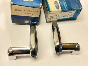 FORD CORTINA MK II 1967 2-D, RH+LH HANDLE VENT WINDOW #3014E-7022916 & 17A NOS!