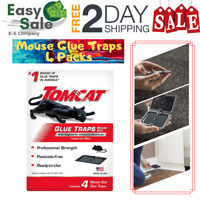 Ess Glue Traps For Mice Rats Insects Non Toxic Ready To Use Home Indoor 4 Pack