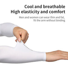Sun Protection UV Arm Cool Sunscreen Golf Cooling sleeve Cover Sports XL