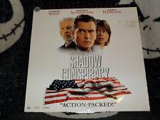 Shadow Conspiracy Widescreen Laserdisc LD Charlie Sheen Free Ship $30