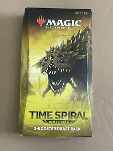 Magic The Gathering MTG Time Spiral Remastered 3 Booster Draft Pack 45 Cards 🔥