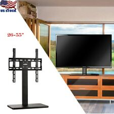 "Table Top Desk TV Mount Stand for 32""to60"" Height Adjust Better Viewing Angles"