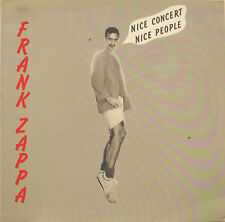 "FRANK ZAPPA ""NICE CONCERT, NICE PEOPLE""  rare lp live mint"