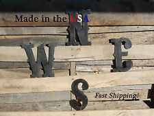 """8"""" N, E, S, W Letters-Directional Letters-Compass Directions-Outdoor Art-F1004"""
