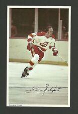Leon Rochefort  Vintage Atlanta Flames 1970s Hockey Postcard