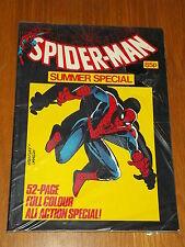 SPIDERMAN BRITISH WEEKLY SUMMER SPECIAL 1984 MARVEL