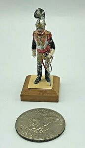 Vintage Hand Painted Lead Metal Toy Soldier General Chouard France Labayen Good