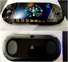 Black PS Vita Playstation Vita Slim 256GB 3.65fw Henkaku Enso [PSP, PS1, Retro]