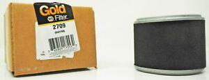 NAPA 2709 Gold Air Filter Aquacide Smithco Sprayer 96-09 Cellulose Material