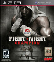 Fight Night Champion New Playstation3