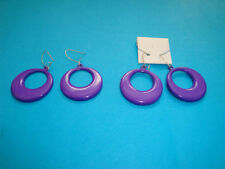 Unbranded Plastic Hook Costume Earrings without Metal