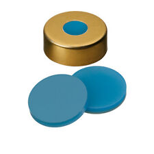 ND20 Magnetic Crimp Cap (8mm hole) with Silicone/PTFE Septa ,pk.100 (2009 0975)